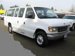Juarez El Paso Shuttle Company Vehicle